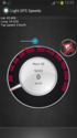 Screenshot 1 of Light GPS Speedometer: kph/mph 1.7.6