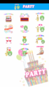 Screenshot 3 of Party Sticker GIF Free 1.0.2