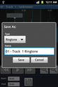 Screenshot 1 of Ringtone Maker MP3 and cutter 1.8