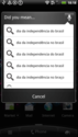Screenshot 1 of Google Voice Search 2.1.4