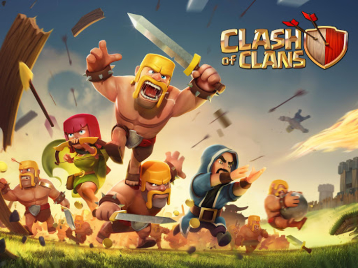 Clash of clans game free download for mobile android.