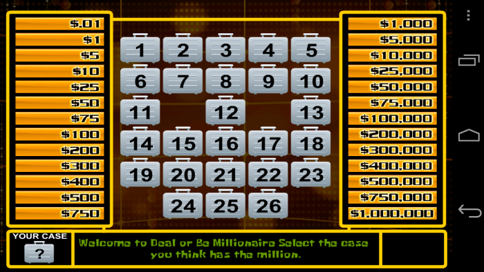 Dealornodeal Game Free Download