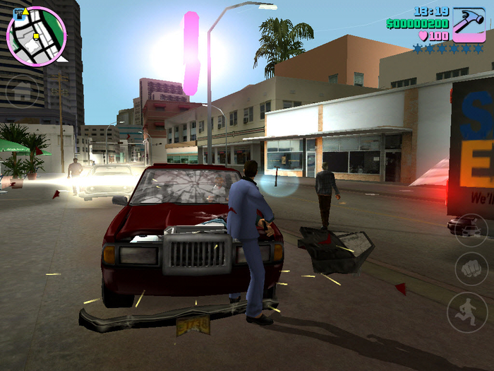 Can i run grand theft auto vice city game app download