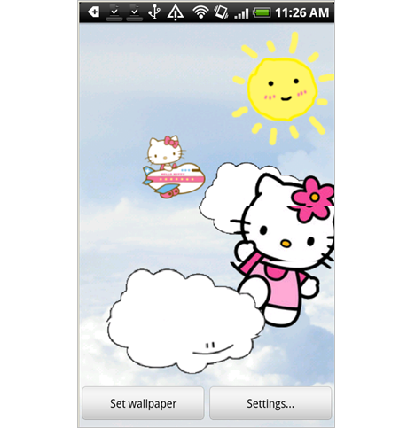 Hello Kitty Live Wallpaper Review
