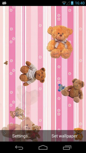 Teddy Bear Live Wallpaper Review
