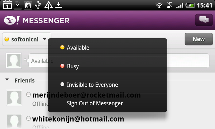 Yahoo! Messenger review.